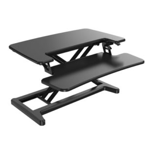 Ergo Office Compact Sit-to-Stand Height Adjustable Workstation